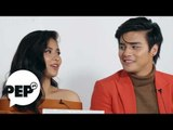 Watch how Loisa Andalio made Ronnie Alonte kilig with this line   PEP Challenge