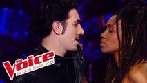 Axel Bauer - Éteins la lumière  | Kristel Adams VS Flo Malley | The Voice France 2012 | Battle