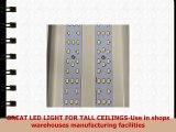 100 Watt LED IBeam Dimmable High Bay Light 5000 Kelvin Cool White 13910 Lumens 120277