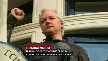 Challands o hapšenju Juliana Assangea