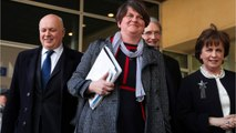 DUP Leader Foster Says Irish 'Backstop' Still Critical Issue