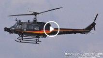 "Bell UH-1D MAT ""Huey"" - German Air Force ""MAT-c/s"" 98+98 - arrival at Manching Air Base [2160p25]"