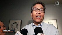 Mar Roxas on lower survey ranking: 'Okay lang 'yan, family first'