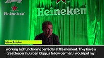 (Subtitled) Nico Rosberg tips Liverpool to win the UEFA Champions League