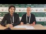 """ATP Montecarlo, Ubaldo Scanagatta e Carlo Carnevale: """"Questo Djokovic non è ancora quello vero"""""""