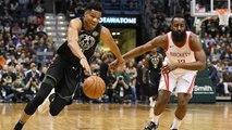 Giannis Antetokounmpo or James Harden? SI's Chris Mannix Makes His MVP Pick