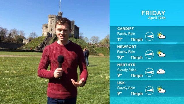 WEATHER: April 12th 2019