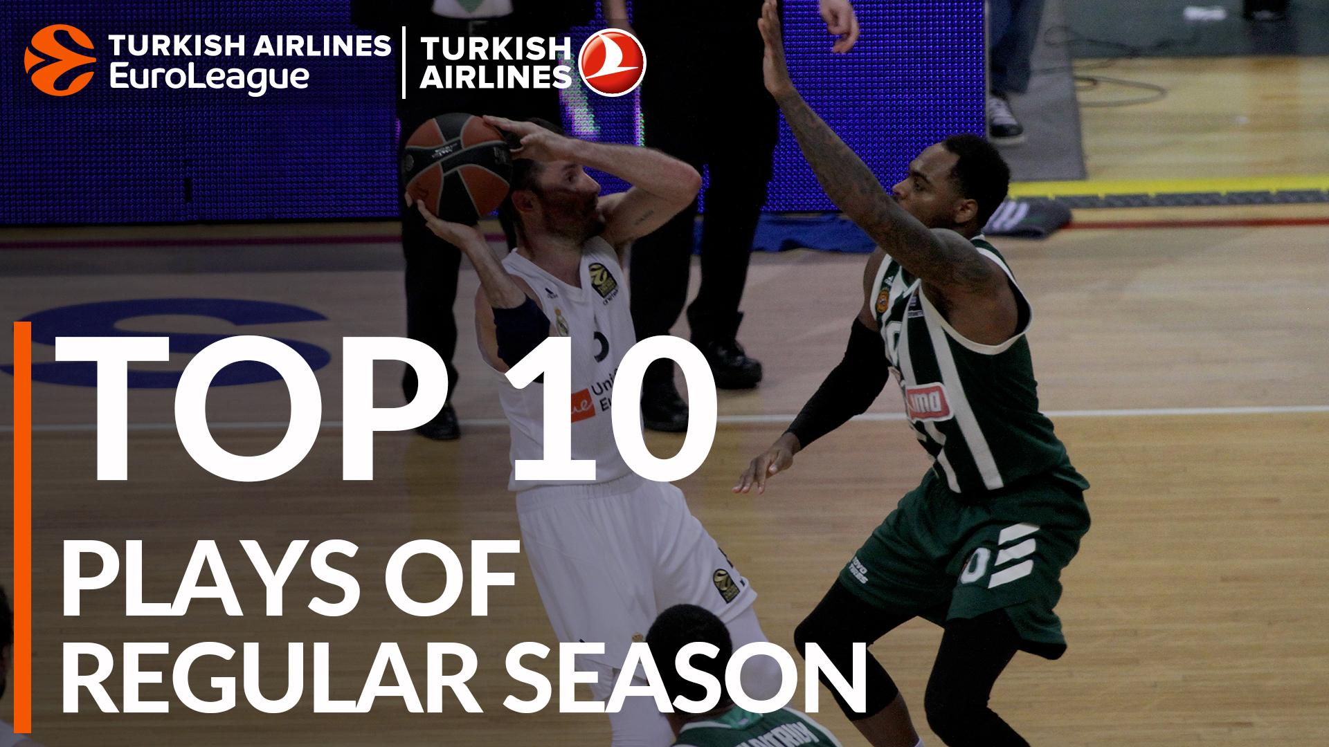 Turkish Airlines EuroLeague, Top 10 Plays of the Regular Season