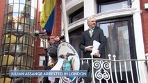 WikiLeaks Founder Julian Assange Arrested in London After 7 Years Sheltered in Ecuadorian Embassy