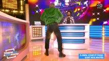 Djibril Cissé fait une démonstration de danse à Cyril Hanouna