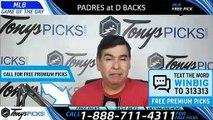 San Diego Padres vs. Arizona Diamondbacks 4/11/2019 Picks Predictions