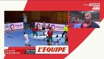 Dinart «On a manqué d'engagement» - Hand - Qulifications Euro 2020