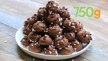 Recette des chouquettes tout chocolat - 750g