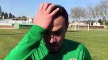 D1 (19ème journée) – Nadir MERABETI réagit après la défaite de l'ASA VILLEURBANNE au FEYZIN CBE