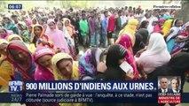En Inde, 900 millions de personnes sont attendues aux urnes pour des élections législatives