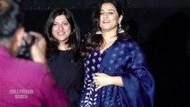 Vidya Balan & Zoya Akhtar At The Announcement Of Nomiation For Critics Choice Film Awards 2019