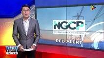 Luzon grid, muling inilagay sa yellow at red alert status