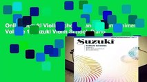 Online Suzuki Violin School Piano Accompaniment Volume 1 (Suzuki Violin School, Piano