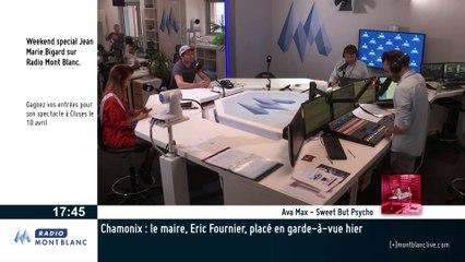 François Place sur Radio Mont Blanc