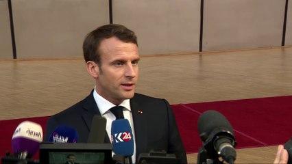 Brexit - Arrivée à la Réunion Extraordinaire du Conseil Européen