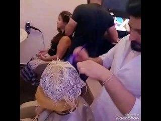 طريقة تخصيل الشعر لايت بالطاقية#RENA BEAUTY CENTER