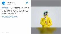 Météo : Des températures glaciales pour la saison attendues ce week-end