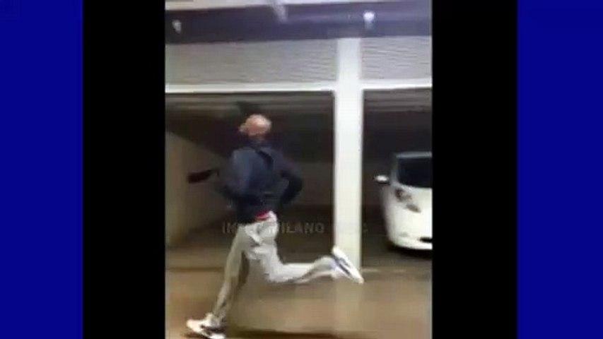 Lukaku si allena in Garage