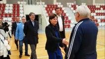 La ministre des Sports au gymnase de Mulhouse-Bourtzwiller