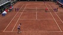 Tennis - Sara Errani sacó en varias ocasiones por debajo en su encuentro de la fase previa del WTA de Bogotá