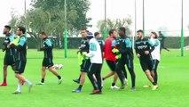 Lazio continue their preparation ahead of crucial Serie A match at AC Milan