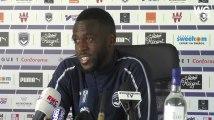 """Maxime Poundjé : """"jouer plus haut me donne beaucoup plus de liberté"""""""
