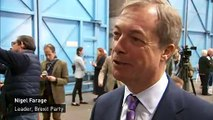 Nigel Farage bets £1,000 at 3/1 on Brexit Party victory