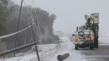 More snow expected as spring blizzard slams central U.S.