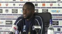 """Maxime Poundjé : """"Bordeaux est un très, très gros club Français"""""""