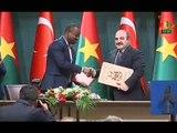 RTB - Accords signés par le Président du Burkina Faso, RochMarc ChristianKaborélors de sa Visite en Turquie