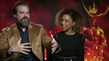 Hellboy: David Harbour and Sophie Okonedo discuss new movie