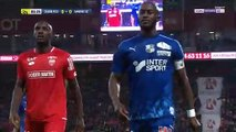 Prince-Desir Gouano (Amiens) confronts Dijon fans after hearing racist insults