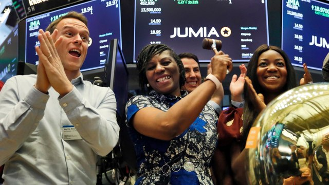Jumia Technologies, Africa's Amazon, Makes Historic Debut on the NYSE