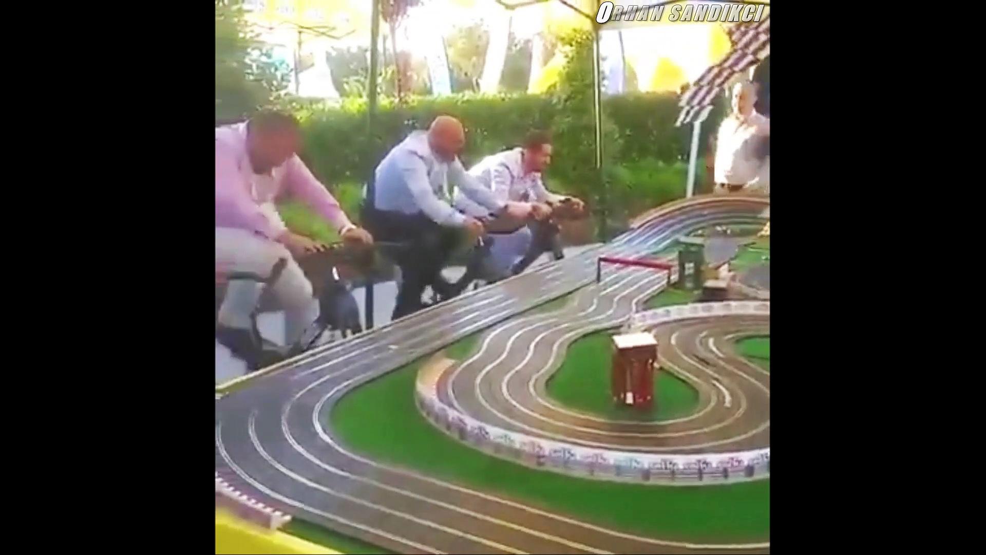 Hem spor hem yarış :)