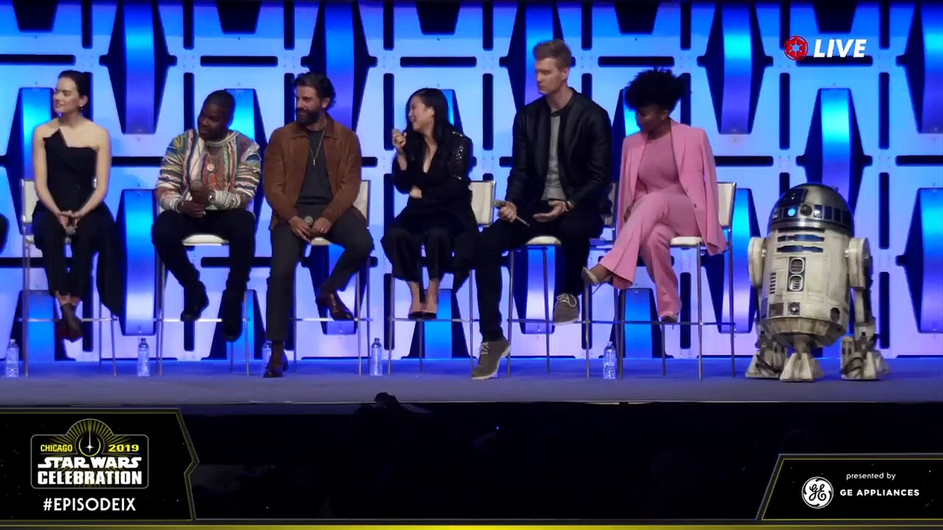 Star Wars Episode 9 Panel Star Wars Celebration Chicago 2019 Part 3 Video Dailymotion