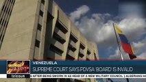 The Supreme Court In Venezuela Names The PDVSA Board Invalid