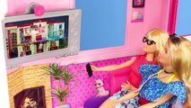 Poupées Barbie: Tous les Dreamhouse maisons de poupées w/ Cuisine & Chambre Jouets Jeu de Poupée pour les Enfants | Gertie S. Bresa