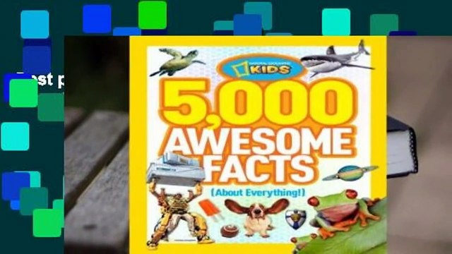 Best product  5,000 Awesome Facts (About Everything!) - National Geographic Kids