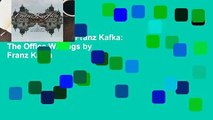 [BEST SELLING]  Franz Kafka: The Office Writings by Franz Kafka