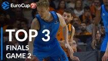 7DAYS EuroCup Finals Game 2 Top 3 Plays