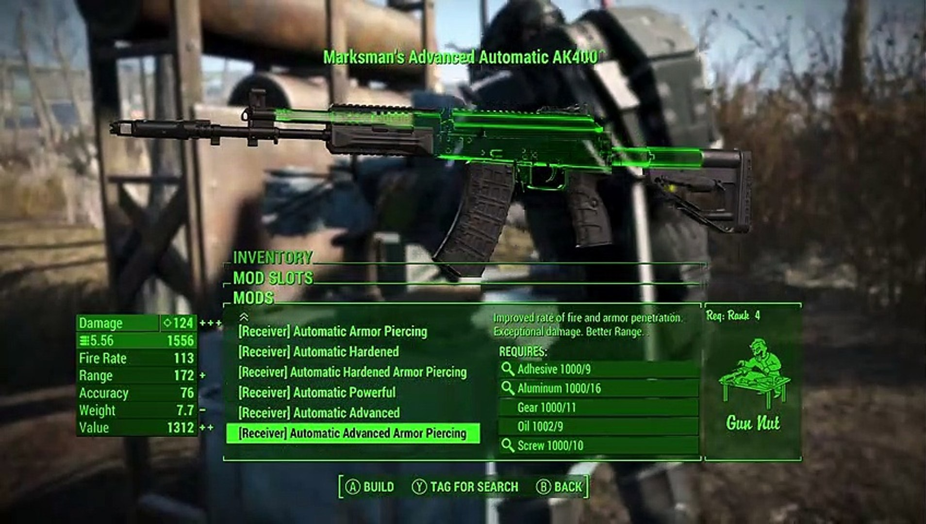 Fallout 4 How To Get the AK400 - Assault Rifle (Xbox One Mod)