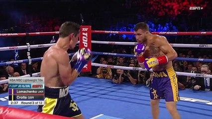 Vasyl Lomachenko vs Anthony Crolla Fight Highlights