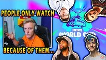 Tfue believes *NO ONE* will watch World Cup without Big Streamers! | Fortnite Best Moments