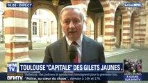 """Gilets jaunes: le maire de Toulouse s'attend à """"une plus grande mobilisation"""" et se dit """"inquiet"""""""