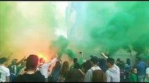 Real Betis-Sevilla: Recibimiento a las jugadoras del Betis en el derbi femenino